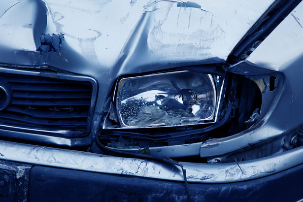 Crashed Car - Automobile Accident